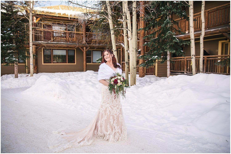 The Lodge at Breckenridge Winter Wedding Photos   Winter ...