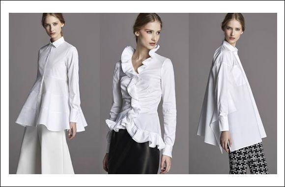 White Shirt: CH Carolina Herrera FW15 White Shirt Collection http ...