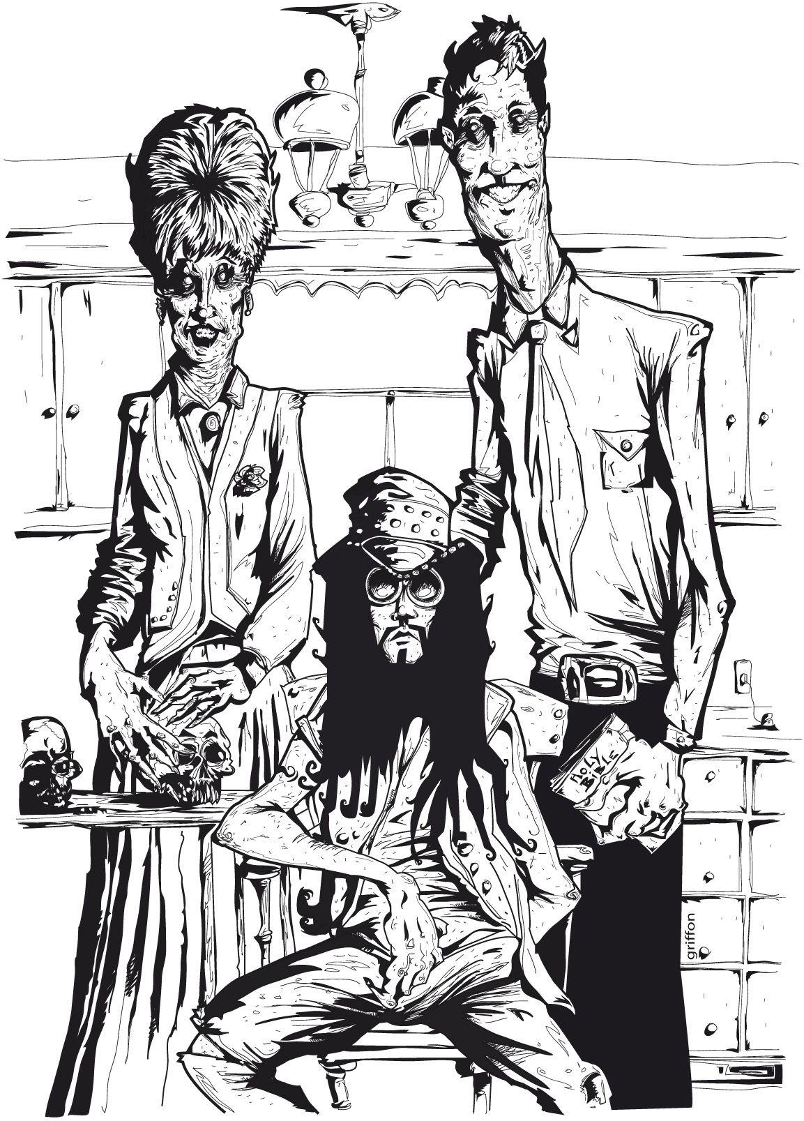 illustration Guillaume Griffon (com imagens) | Quadrinhos