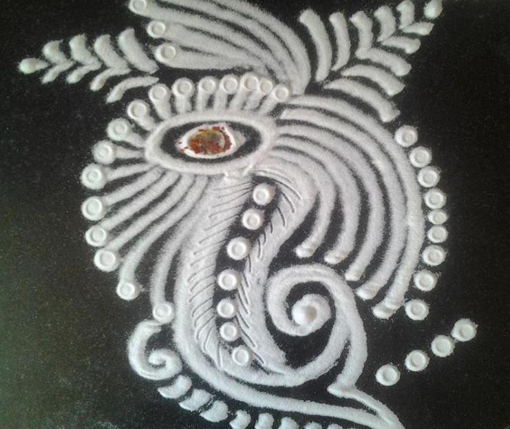 Kolam Rangoli Designs Rangoli Designs Pinterest Rangoli
