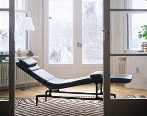 Soft Pad Chaise Es 106 Design Charles Ray Eames Vitra Eames Chaise Vitra Design Armchair Design