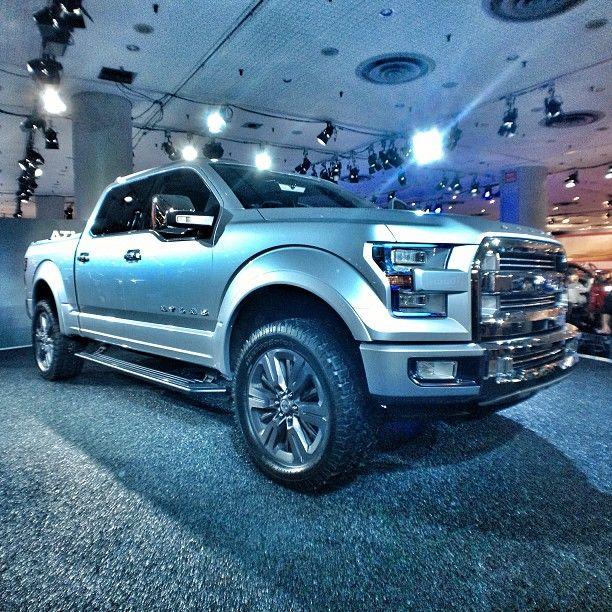 Ford Atlas via Instagram @Michael Dussert Dussert Dussert Kriegshauser Automotive #NYIAS