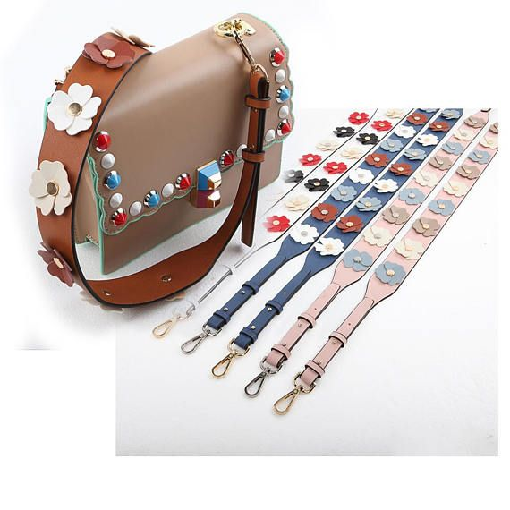 84c6ff064fe7 Bag Strap leather Removable Purse Strap Interchangeable Strap Replacement  Handle Chain SS003