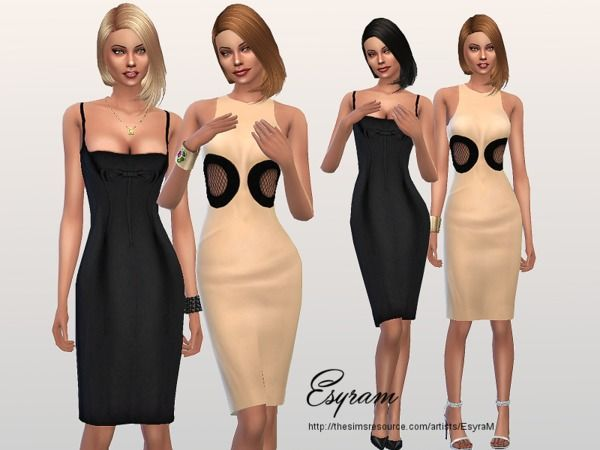 Sims 4 Cocktail Dress
