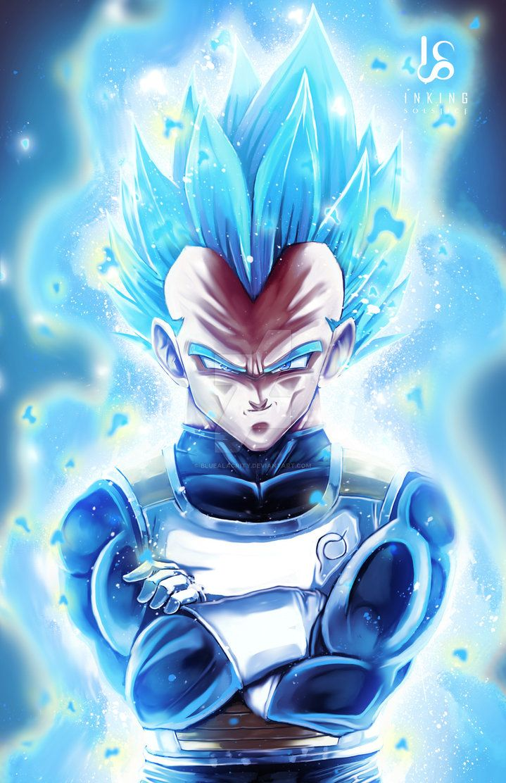 Ssj Blue Vegeta by BlueAlacrity Dragon ball wallpapers