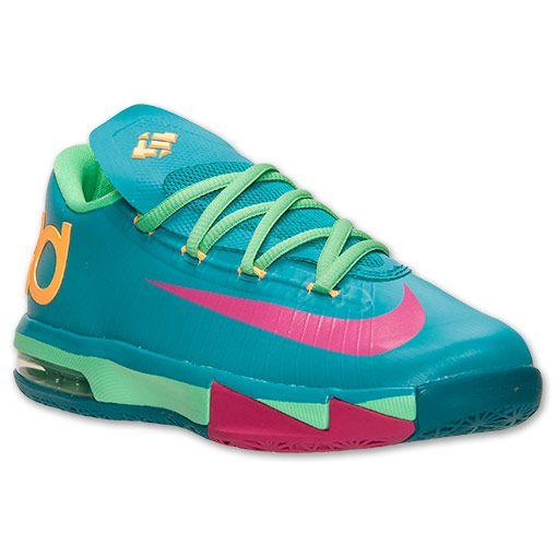 8e7598bfc7be Boys  Grade School Nike KD 6 Basketball Shoes - 599477 304