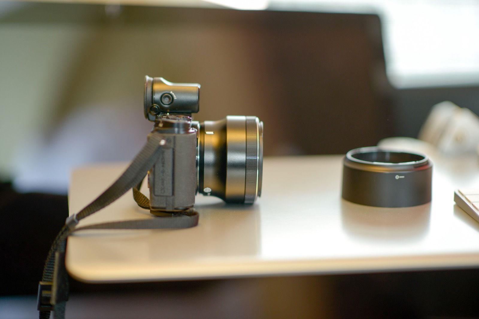 Nikon 1 Nikkor 32mm F 1 2 Lens On A V3 Body And Dfn1000 Lens Nikon F 1