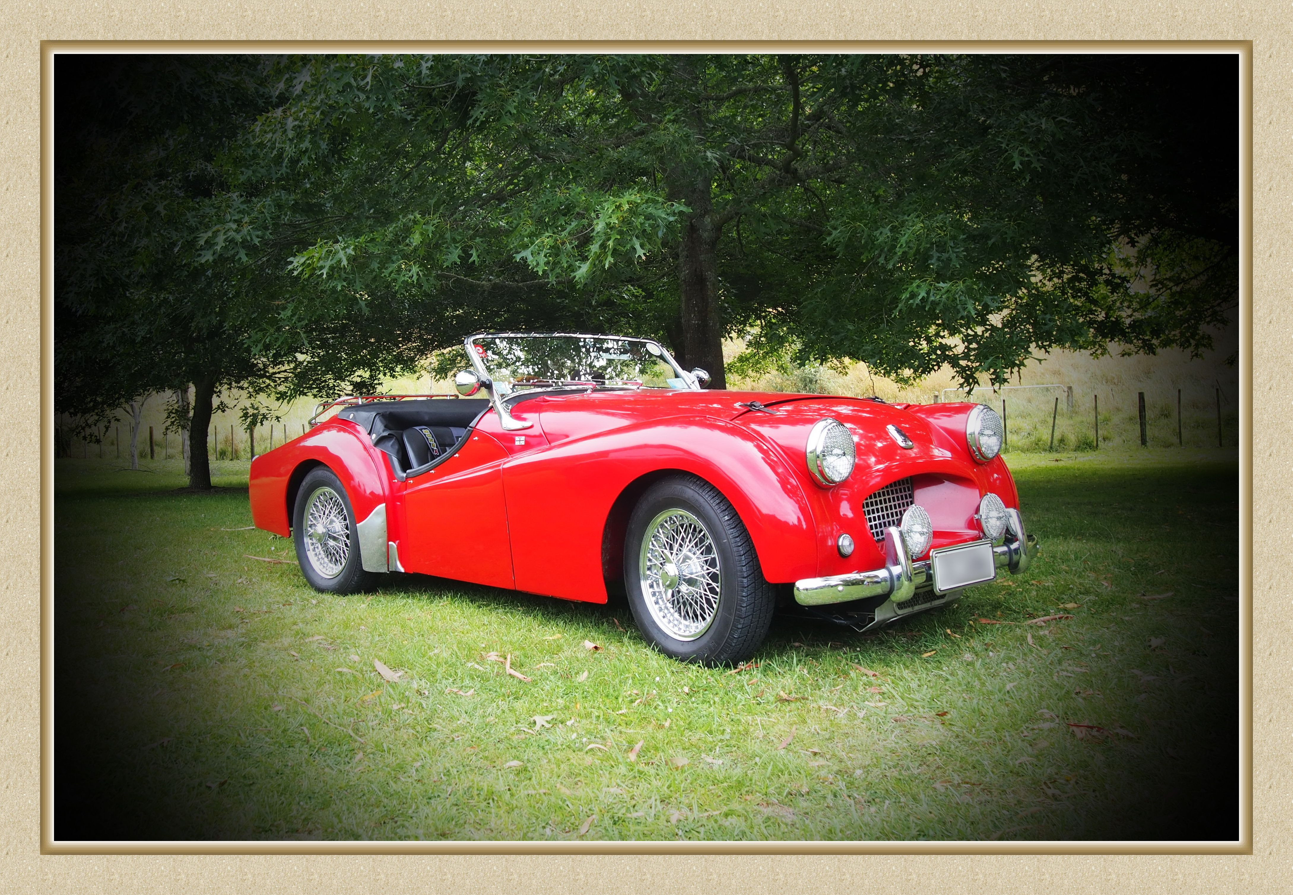 Triumph TR2 OKV 777 Not a works car but works t