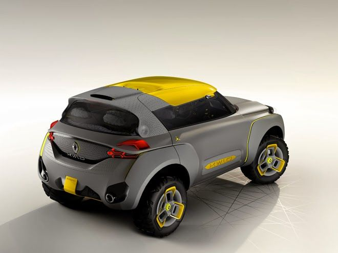 Renault KWID Concept W/flying Companion: An Off Road Car With Built In  Drone Quadcopter