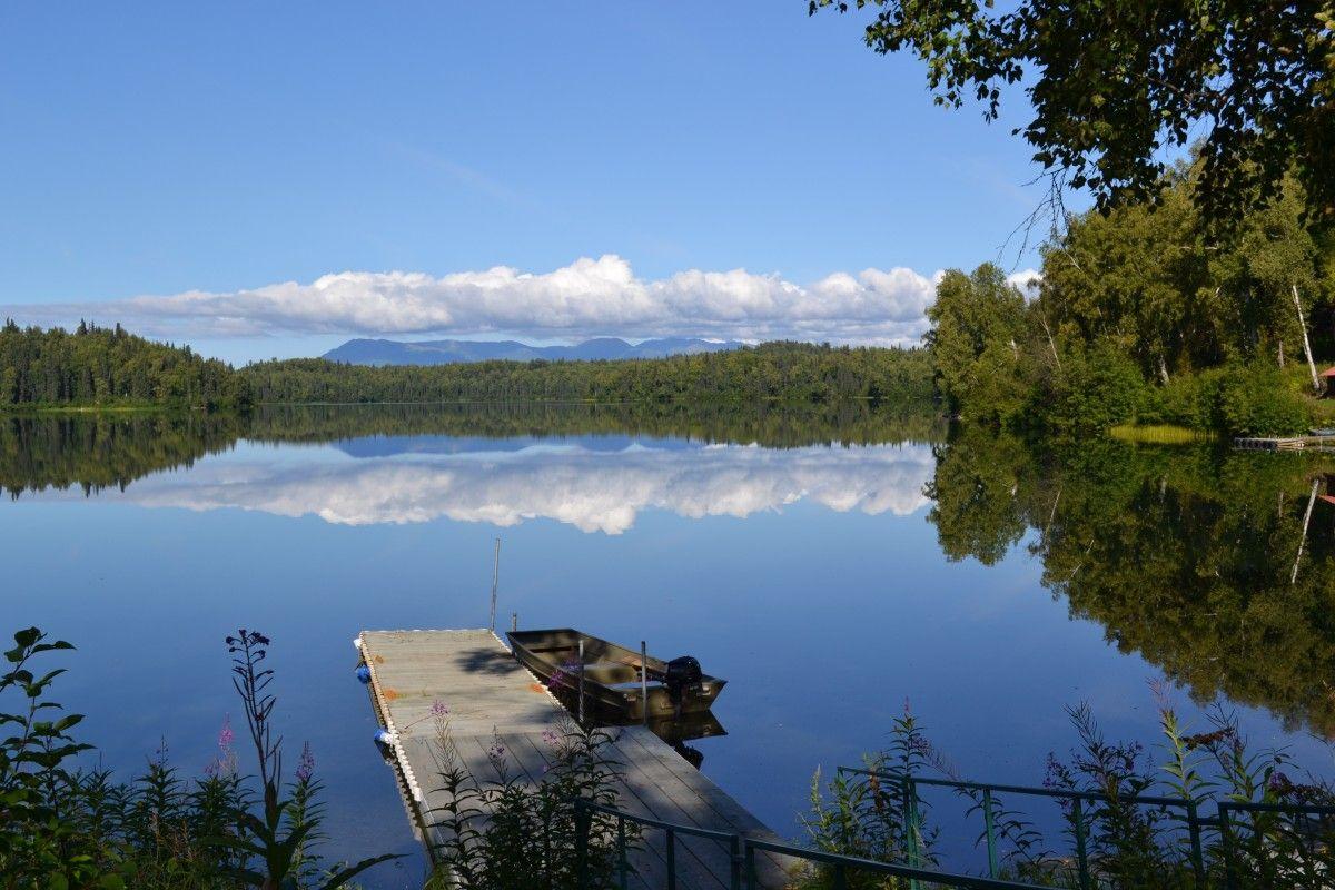 Mirror of beauty on Bulchitna Lake  from Alaska.org | Expert Travel