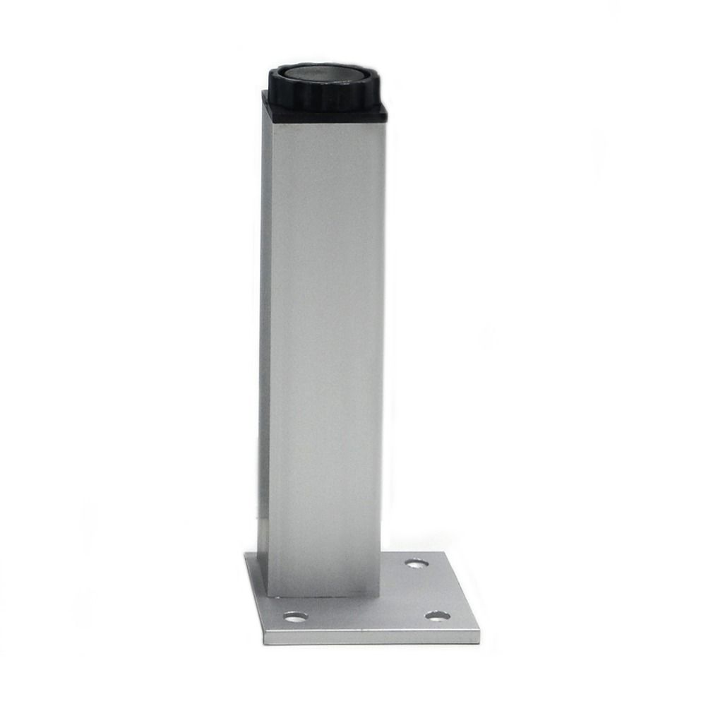 uxcell/® Kitchen Bedroom Plastic Adjustable Cabinet Legs Foot Black 4pcs