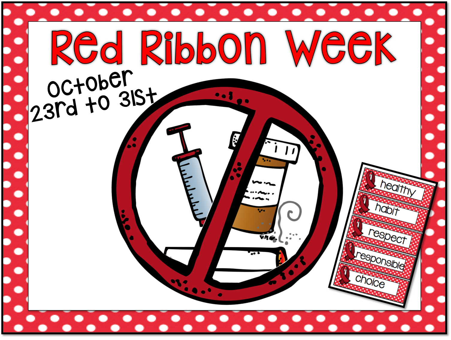 Even Primary Kiddos Can Benefit From Discussions And Activities Related To Red Ribbon Week I Stick To A I Am Special I M Red Ribbon Week Red Ribbon Ribbon [ 1136 x 1505 Pixel ]
