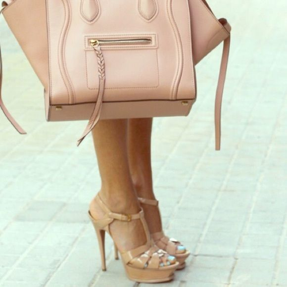 ca2f35613ce YSL Tribute Nude-Powder Sandals Purchased at Nordstrom about six ...