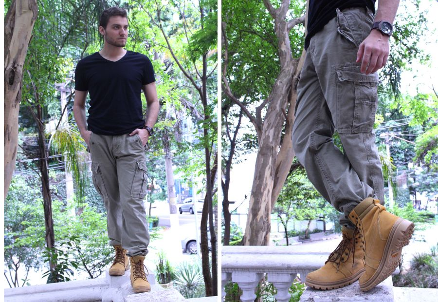 Moda Masculina - Outfit Yellow Boot (ensaio completo no blog!).
