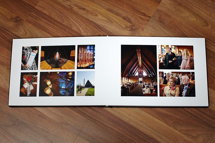 Coffee table wedding albums Modern album design photobook