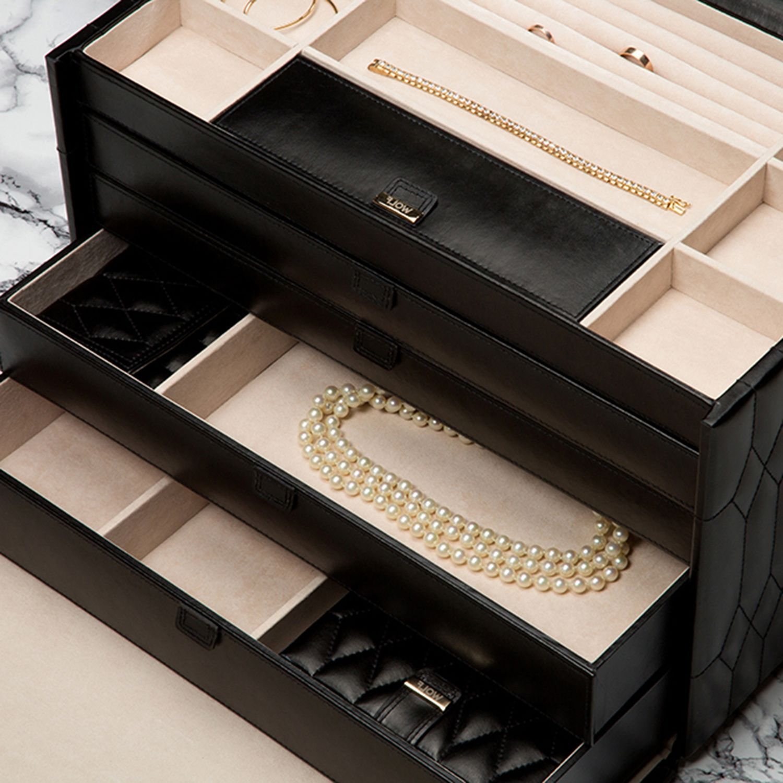 Wolf Caroline Extra Large Jewelry Box W Travel Case Ad Extra Ad Large Wolf Caroline Snow Fashion Fashion Outfits Fashion