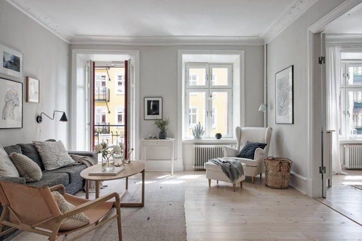 Amplitud u2013 102 m², dos dormitorios Compact living, Interiors and House