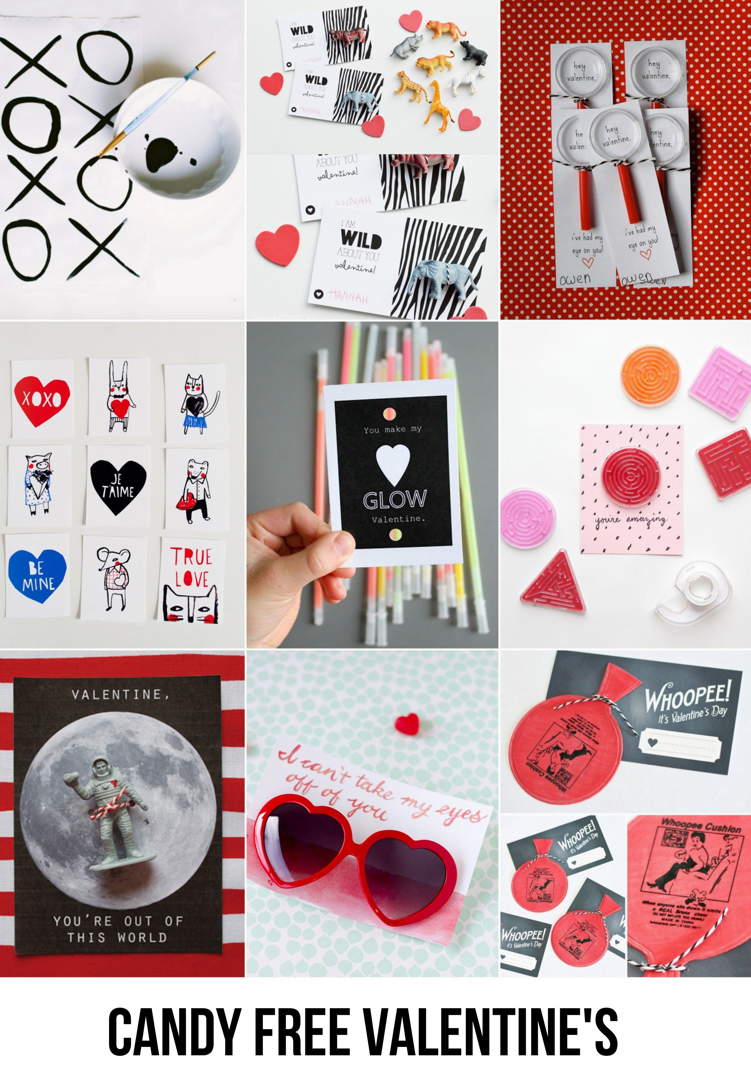 Candy Free Valentine's gifts for the kids