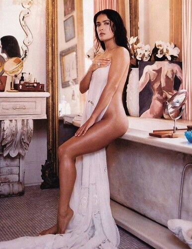 Desnuda Salma hayek