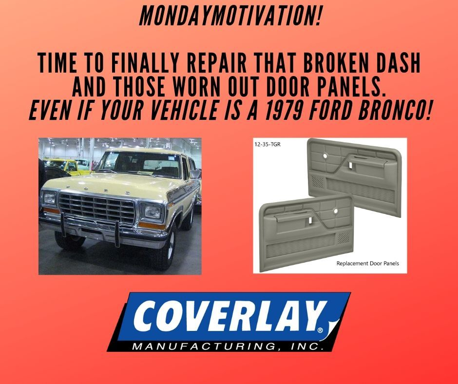 Pin By Coverlay Manufacturing Inc On Door Panels Ford Bronco 1979 Ford Bronco Panel Doors