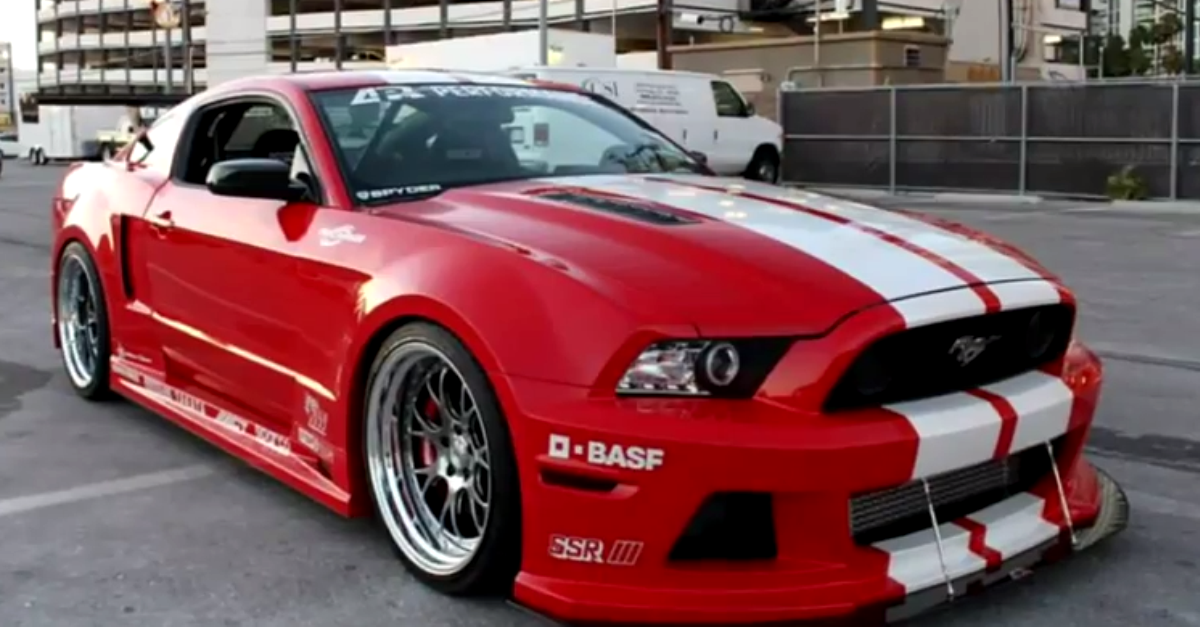 Modified Mustang Wide Body Kits Compilation Mustang Cars
