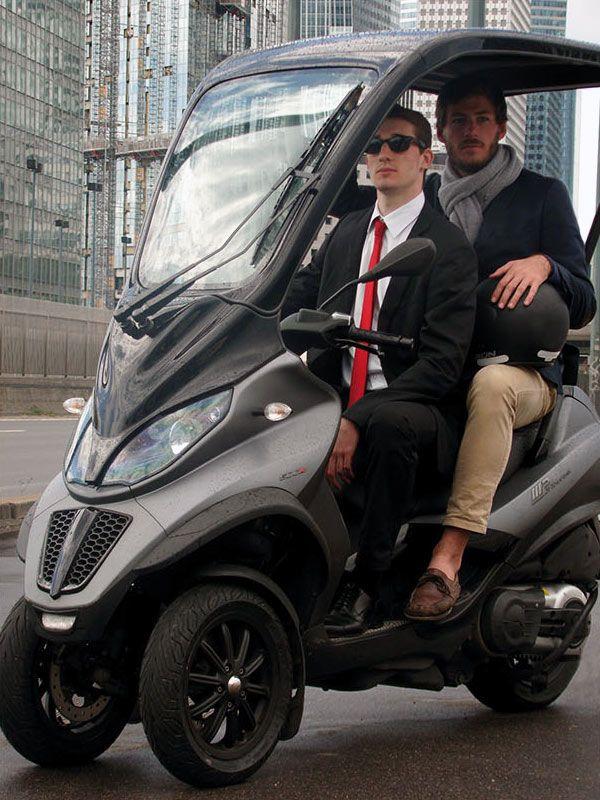 vestratis un toit rigide pour piaggio mp3 scooters reverse trike and cars. Black Bedroom Furniture Sets. Home Design Ideas