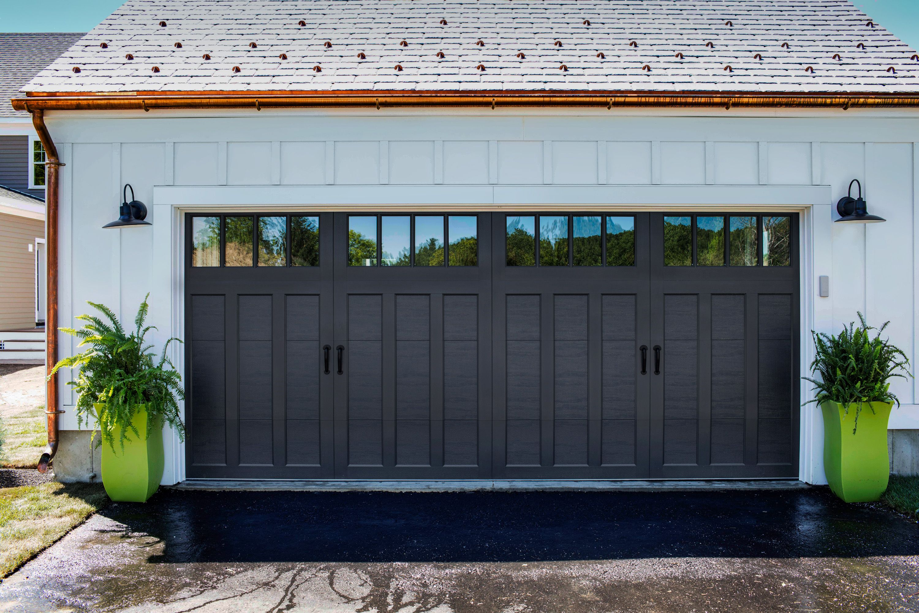 Clopay coachman collection carriage house garage door for Clopay garage door colors