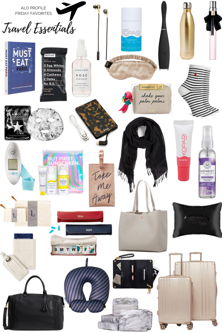 Summer Travel Essentials | Travel bag essentials, Travel