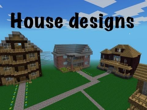 My House Designs | Minecraft PE | Itsholli_   YouTube