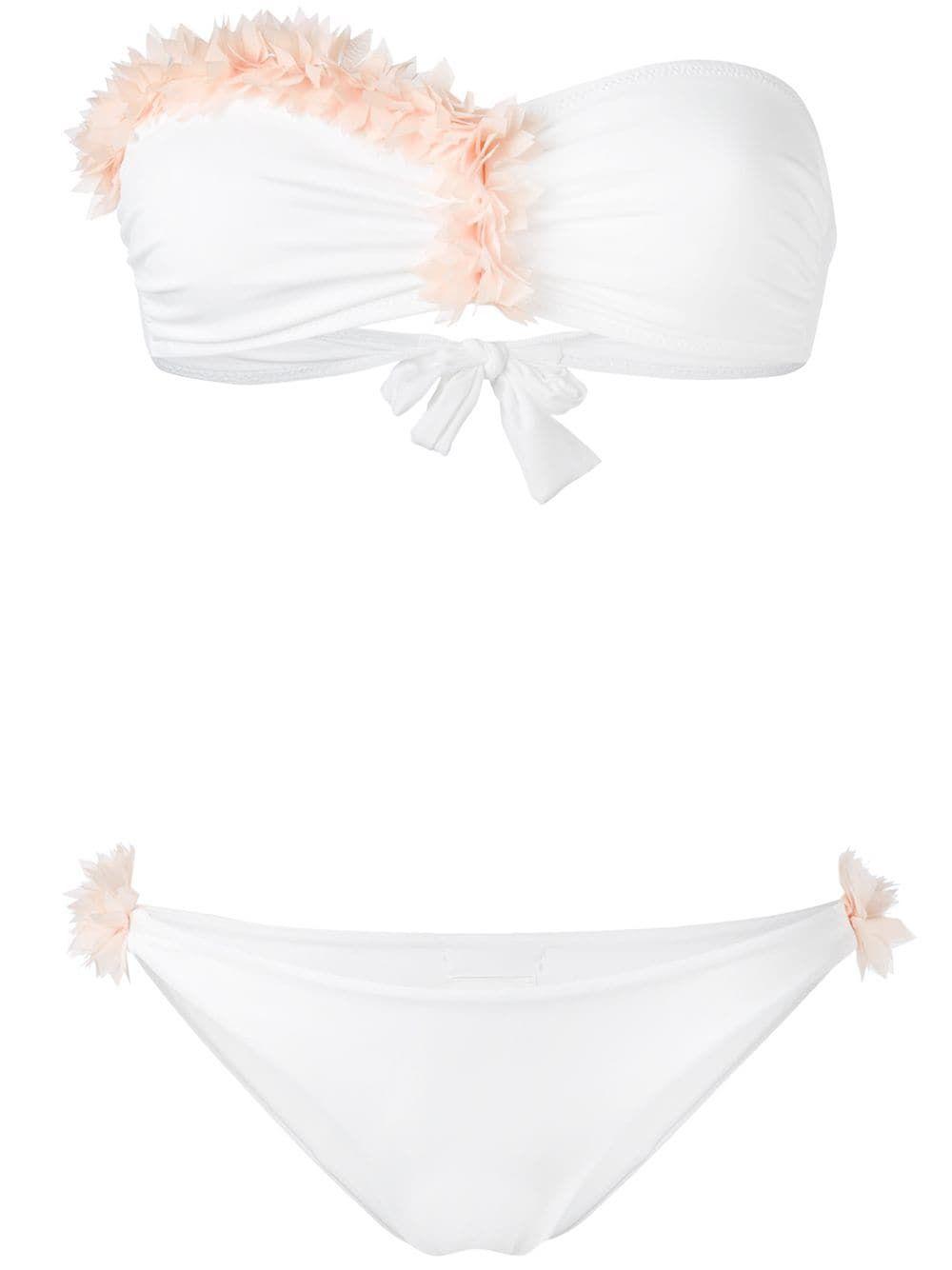 bd60f39f443 La Reveche Dasha bikini - White | Swim | Bikinis, White bikinis ...