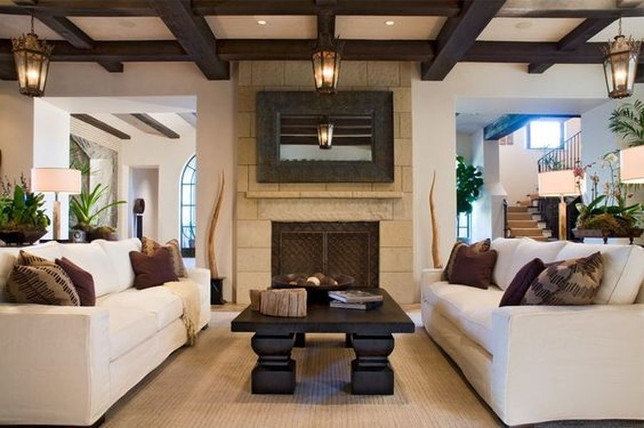 15 Ideas Inspired From Santa Barbara Style Ideacoration Co Zen Living Rooms Balinese Interior Home