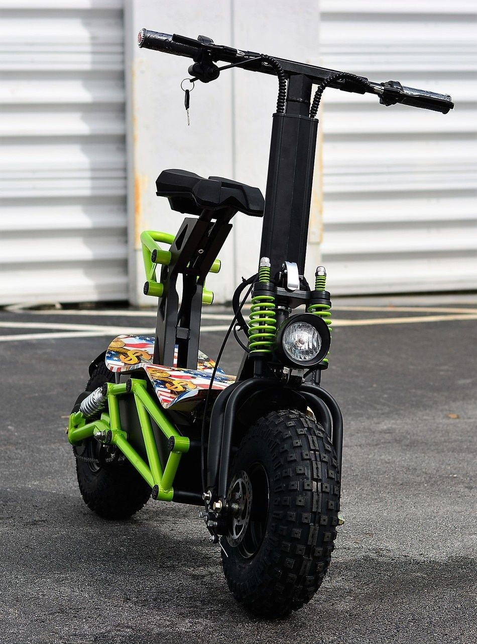 NEW! 2019 MAD MAX 2000w 48v Lithium Electric Scooter W/Huge