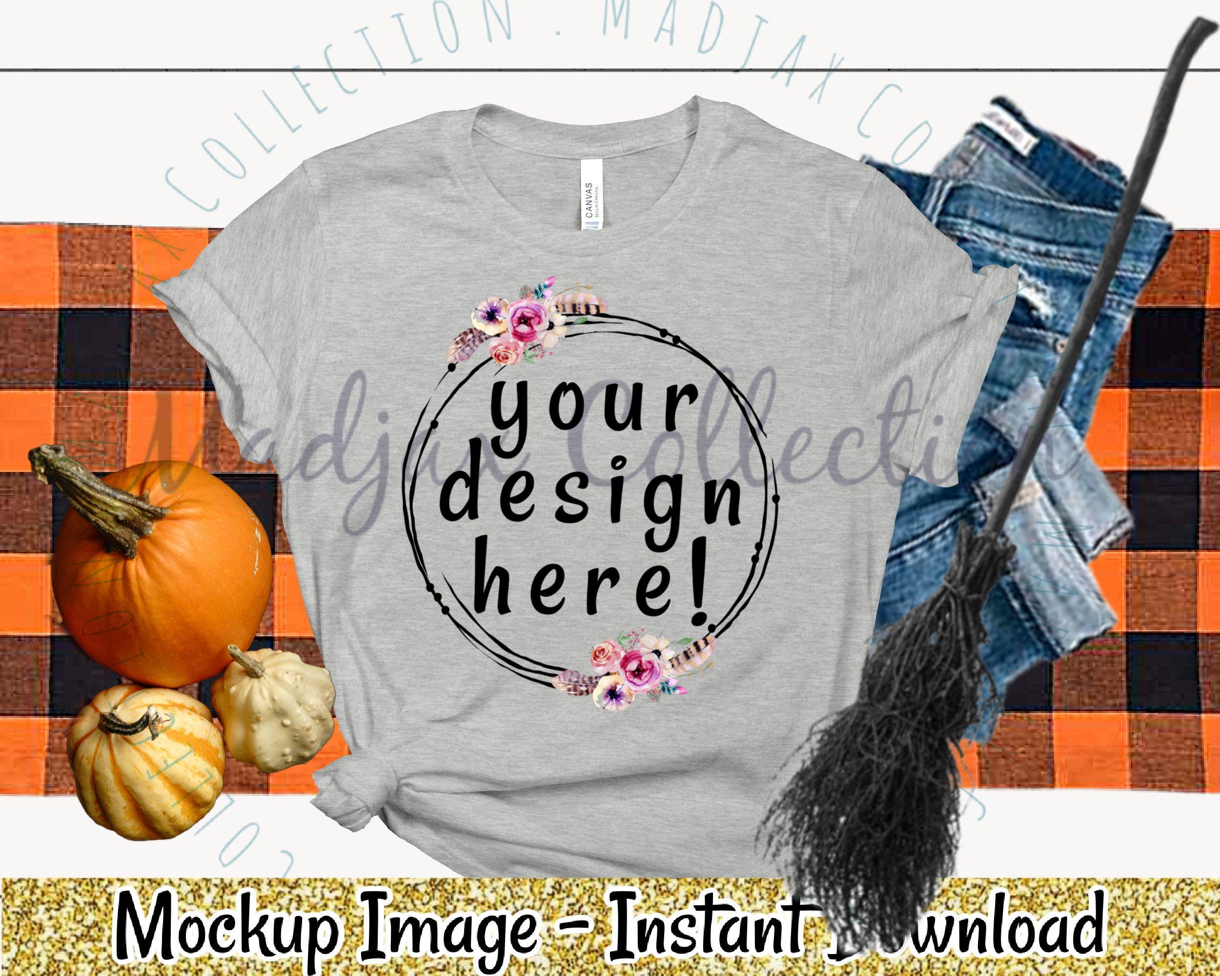 Halloween shirt mockup