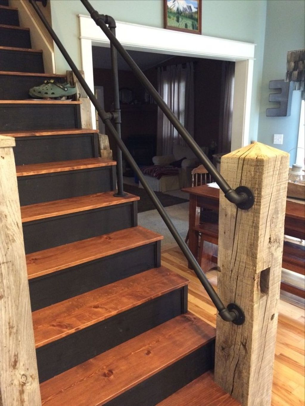 Best Diy Stair Railing Kits Biocert With Images Diy Stair 640 x 480