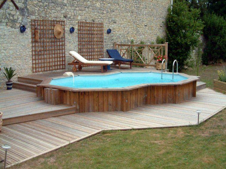 Piscine Hors Sol Bois Idées Et Conseils Pour Votre Jardin - Deco piscine hors sol