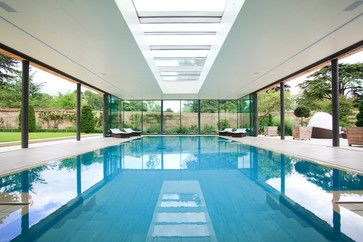 Contemporary Pool The Walls