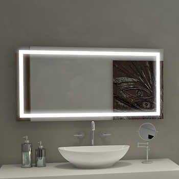 Bathroom Mirror Illuminated Mirrors, Bathroom Mirror 40 X 60