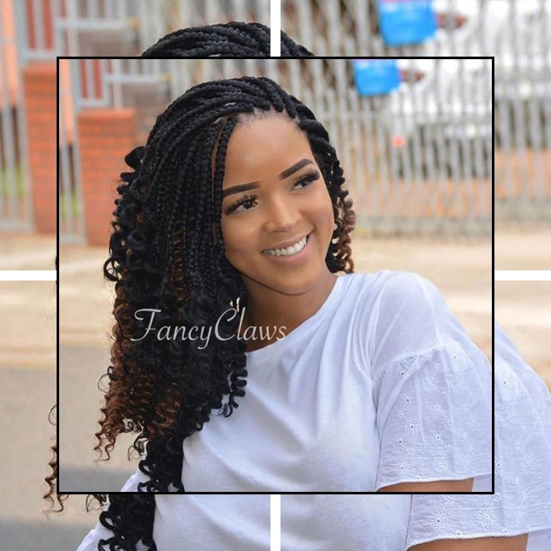 Prom Hairstyles Updos Long Hairstyles 2016 Fall Easy Updos For Work In 2020 Braids With Curls Braided Hairstyles African Braids Hairstyles