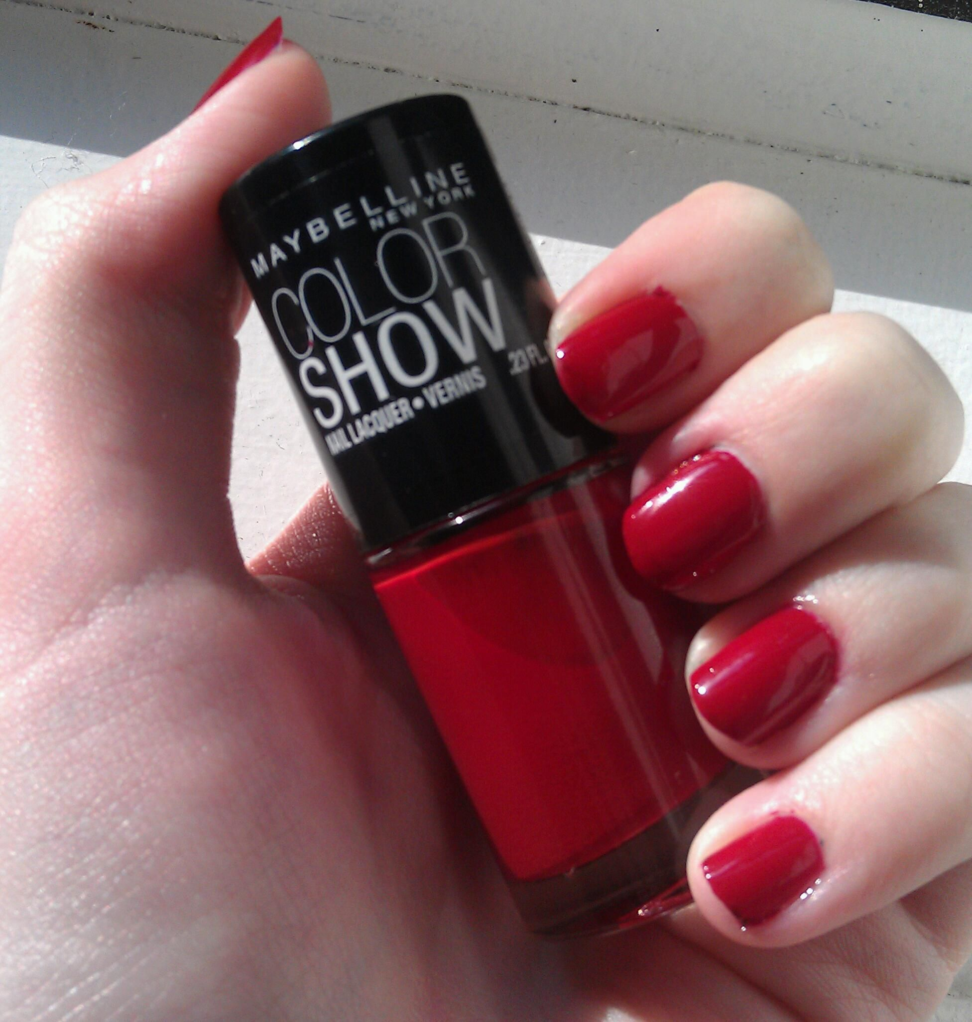 NOTD: Maybelline Color Show In Paint The Town