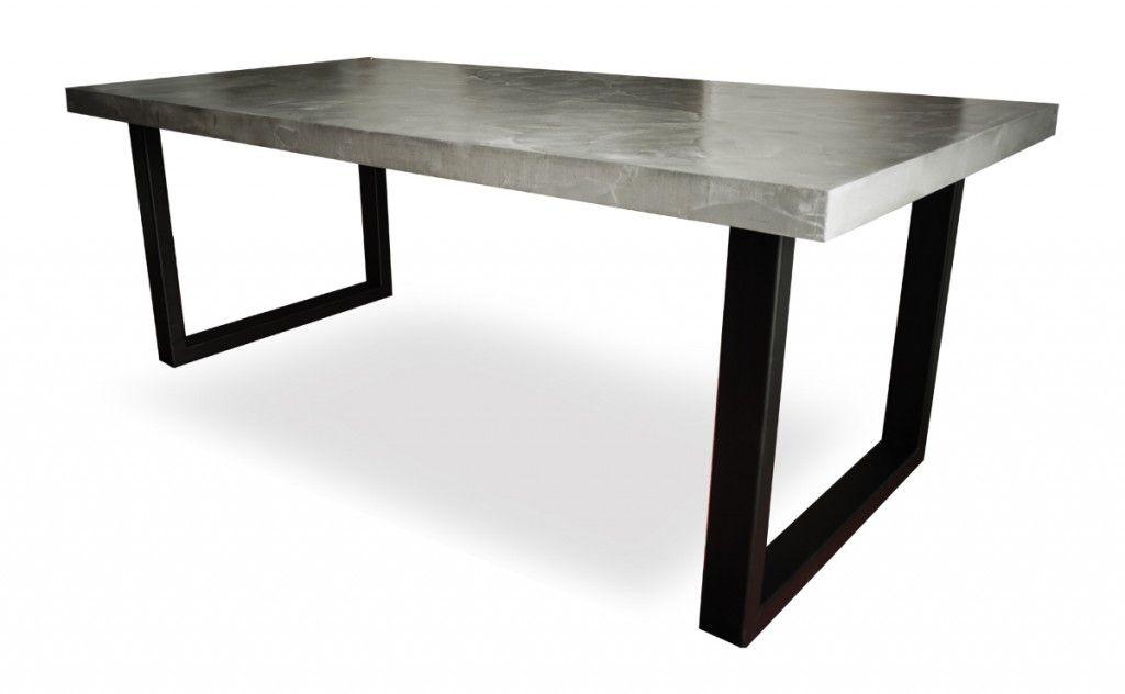 Photos De Realisations Meuble Cuisine Exterieur Table Beton Table Exterieur