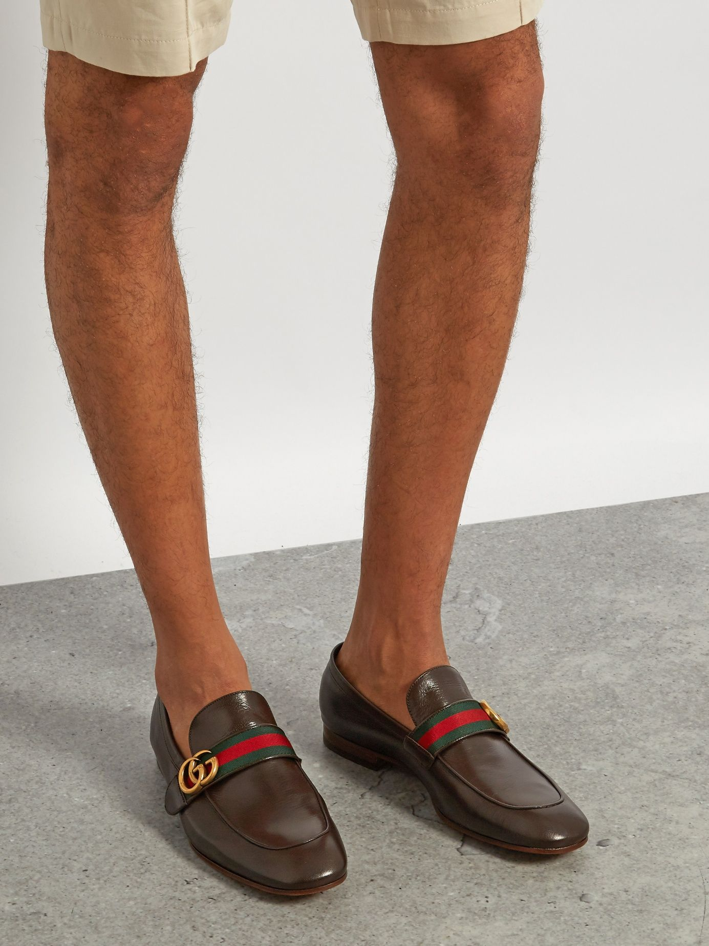 Donnie GG leather loafers | Gucci