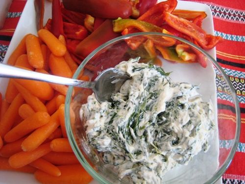 Healthy Spinach Dip - Good Cheap Eats Appetizers