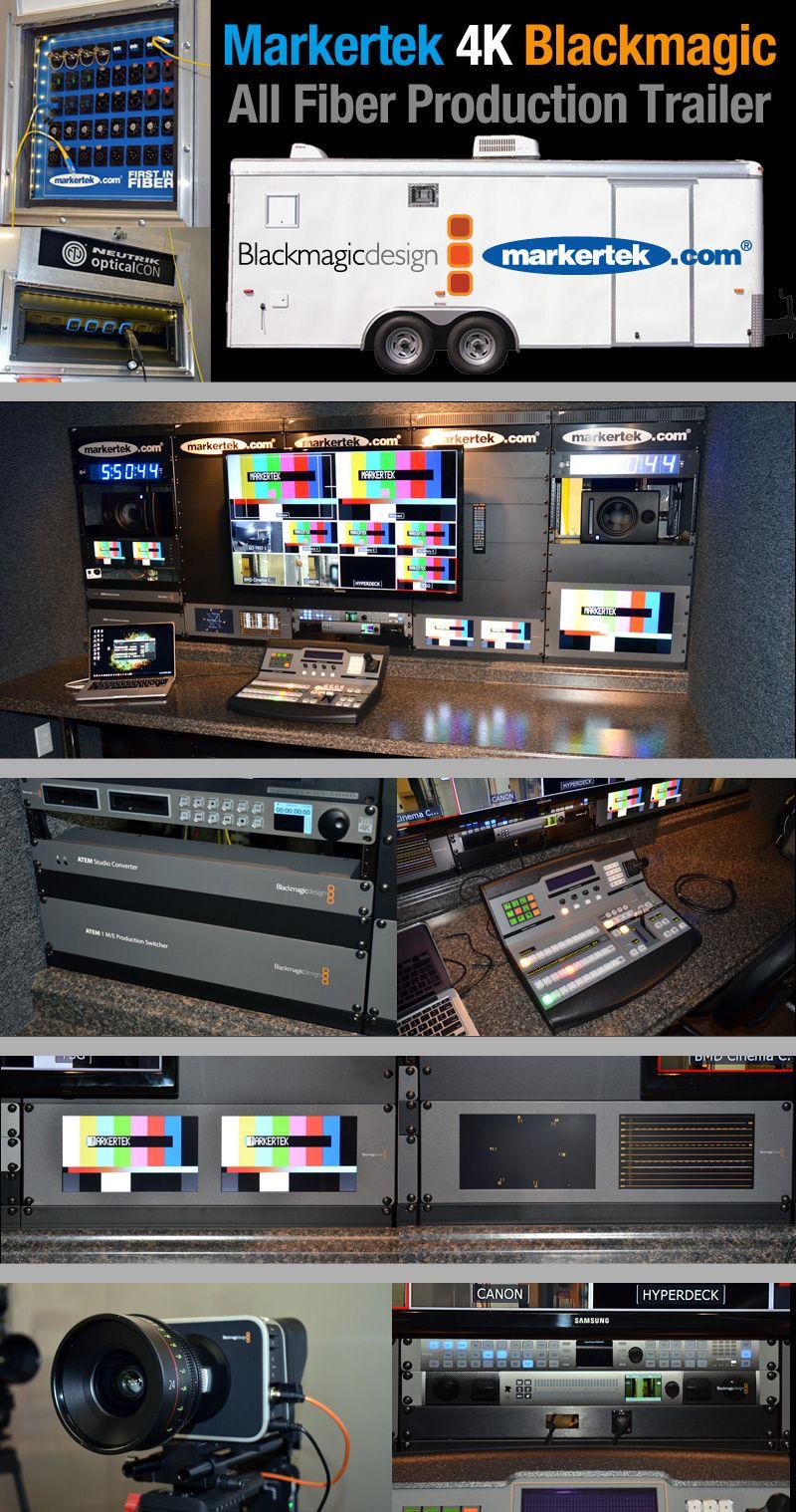 Blackmagic Fiber Ready 4K Production Trailer. See more