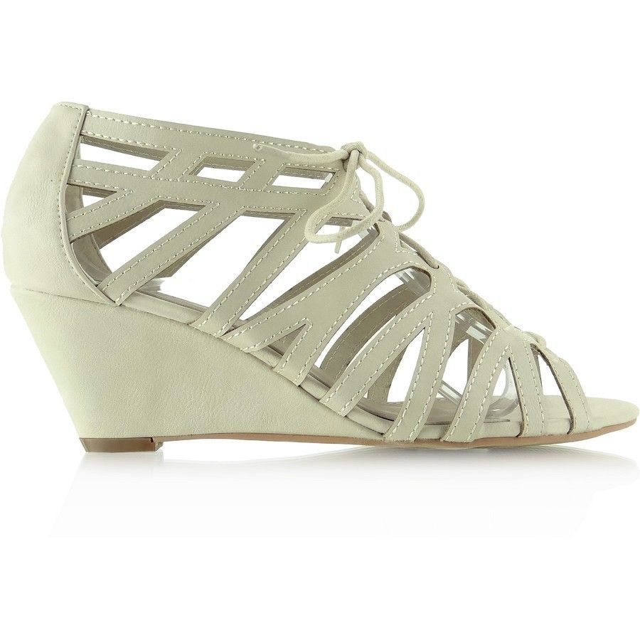 Sandalki Na Koturnie Wiazane Wed 3d391 1 Bezowe Adidas Sneakers Adidas Gazelle Shoes