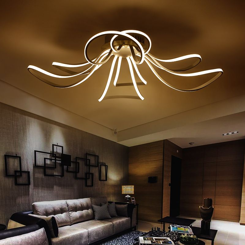 Modern Chandelier Candle Led Chandeliers Fixture Lighting Lustres De Para Cristal Sala De Janta D Ceiling Lights Bedroom Lamps Design Ceiling Lamps Living Room