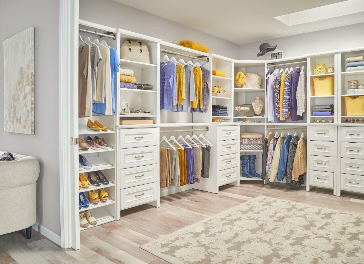 Introducing ClosetMaid's New Impressions Finish Closet
