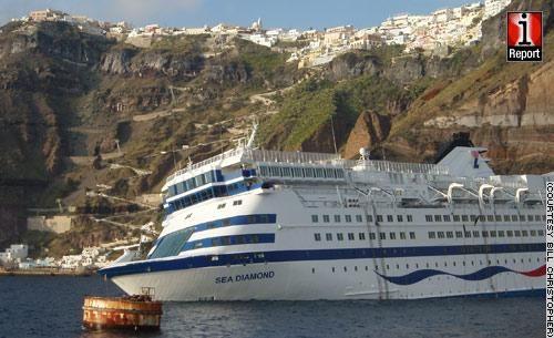 Sea Diamond - Unusual Cruise Photos - Cruise Photos - CruiseCrazies