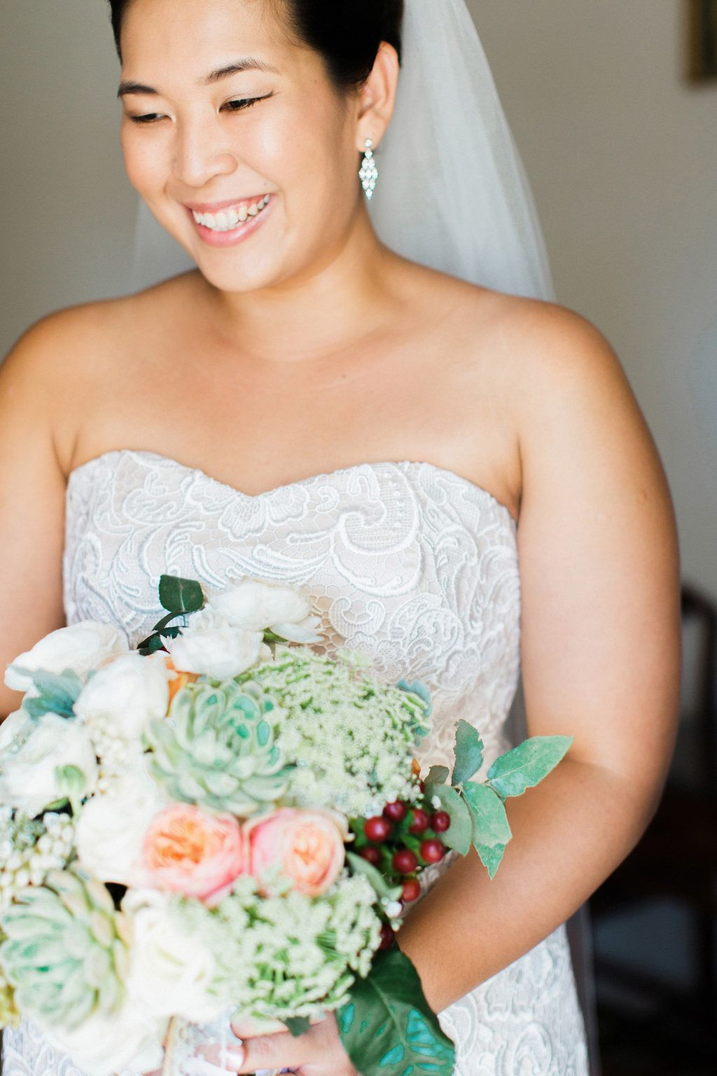 Beautiful bride | Photography: Teneil Kable - www.teneilkable.com/ Read More: http://www.stylemepretty.com/australia-weddings/2015/06/11/contemporary-yacht-club-wedding-in-perth/