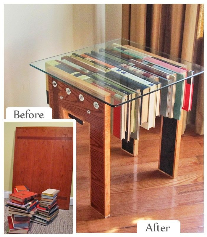 9 Amazing Furniture Upcycle DIYs. Reading TableBook ...