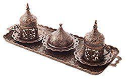 Islamic Turkish Coffee Cups Mistercopper New Premium Turkish